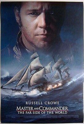 Master and Commander: The Far Side of the World (2003) ORIGINAL MOVIE POSTER