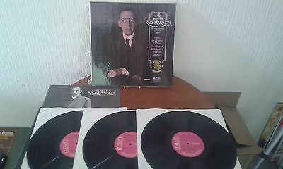 Rca, Avm3 0294 The Complete Rachmaninoff Vol 3, 3 X Lp Box Set With Insert, 1973