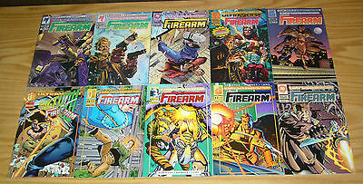 Firearm #0 & 1-18 VF/NM complete series - malibu ultraverse - james robinson set