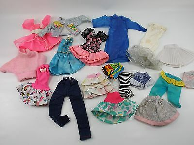 Lot of Vintage BARBIE Doll Clothes Outfits Dresses Skirts Sweater
