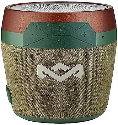 House of Marley Chant Mini Vert Bluetooth Sans Fil Portable Enceinte Audio