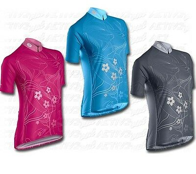 New Sugoi Women Sonic Cycling Jersey Bicycle Short Sleeve Top PICK SIZE & COLOR