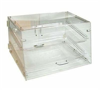 Winco ADC-2 2-Tier Pastry Display Case Acrylic New