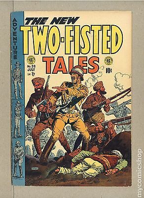 Two Fisted Tales (1950 EC) #38 VG+ 4.5