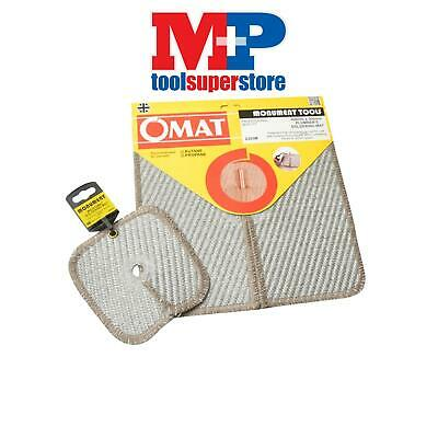 Monument OMATTWIN OMAT Soldering & Brazing Pad Twin Pack 305mm (12in) & 150mm (6