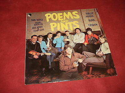 VARIOUS Poems and pints RARE LP FOLK WALES Max Boyce Triban  Ryan