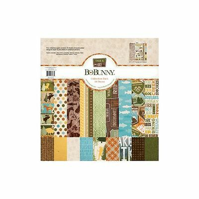 Bo Bunny Take A Hike 12X12 Collection Kit Pack Scrapbooking Paper