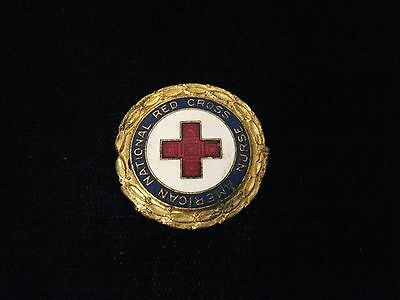 Red Cross Nurses Pin WW2 - Numbered - 134501