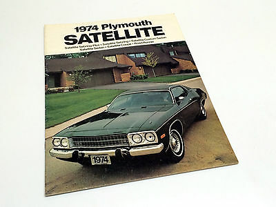 1974 Plymouth Satellite Brochure