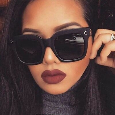 Womens Vintage Mirror Designer Sunglasses Retro Flat Lens Eye Glasses Eyewear TY