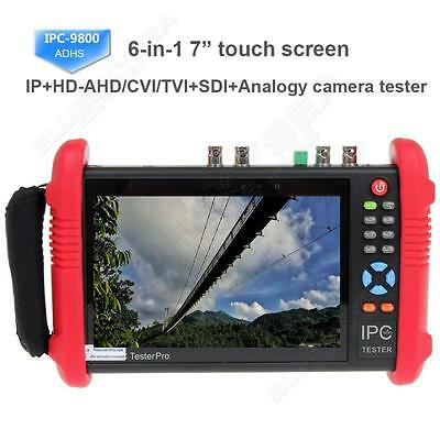 "IPC9800ADHS 7"" Touch Screen 1080P HD TVI CVI AHD SDI CVBS"