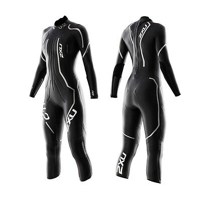 "New 2XU Triathlon Women Wetsuit V:2 Velocity X-Small 4'9'' to 5'3"" Race Tri Swim"