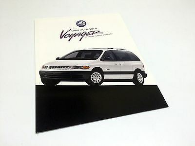 1998 Plymouth Voyager Brochure