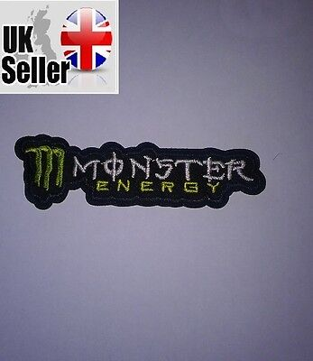 Monster Iron-on/sew-on Embroidered Patch Motorcycle Biker