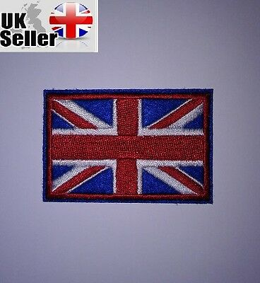 Union Jack Iron-on/sew-on Embroidered Patch Motorcycle Biker