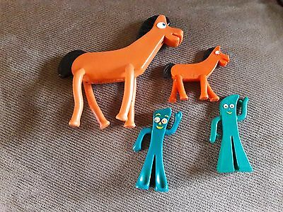 Gumby and Pokey Bendable Figures lot