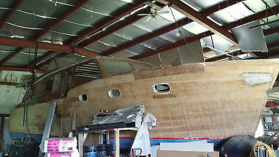 Vintage Dcfb Chris Craft 42 Ft Double Planked Mahogany 1952 Stored Inside 8Yrs