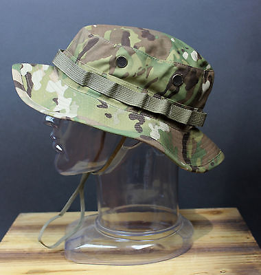 New GI Genuine Issue Multicam Boonies Boonie Cap Hat, 7 1/4