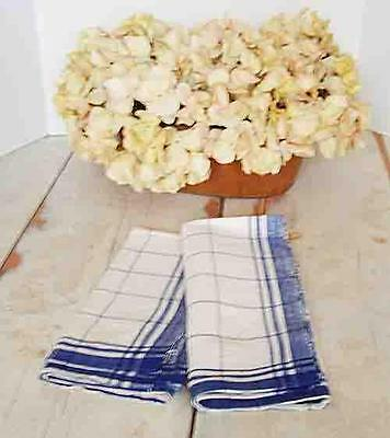 Vintage European Linen Cotton Kitchen Towel--2 Available