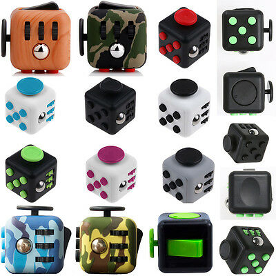 Creatiive Fidget Puzzle Toy Cube Anxiety Stress Relief attention Focus 6side Toy