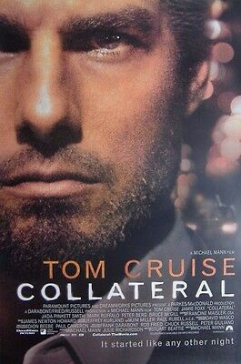 Collateral (2004) ORIGINAL D/S ONE-SHEET MOVIE POSTER, Tom Cruise, Jamie Foxx