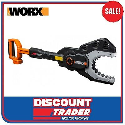 WORX 20V MAX Lithium-ion Cordless Jaw Saw / Chain Saw Tool Only – WG329E.9