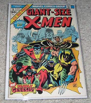 Giant Size X-men 1 1st Storm Nightcrawler Wolverine Days Future Past   Lot