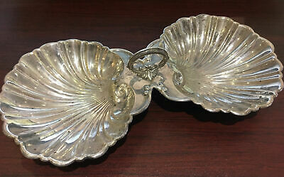 Sterling Silver Seashell Candy Dish STAMPED