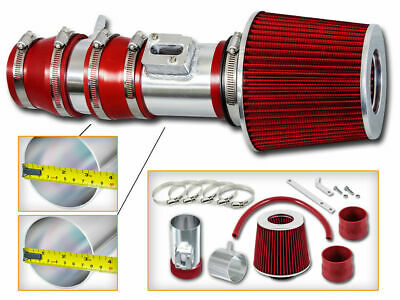 Filter BCP RED For 04-08 Acura TL 3.2 V6 Cold Air Racing Intake System