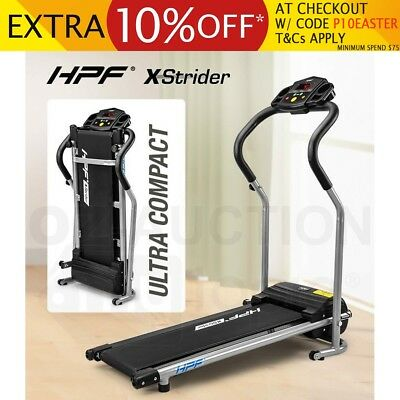 HPF X-Strider Compact Electric Walker Treadmill Exercise Machine