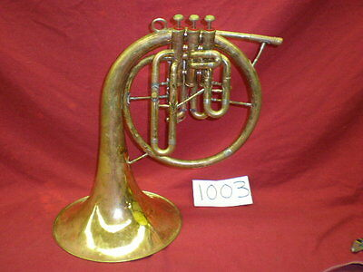 Olds 3 valve Eb Mellophone looking for a owner! NO RESERVE!!!!!