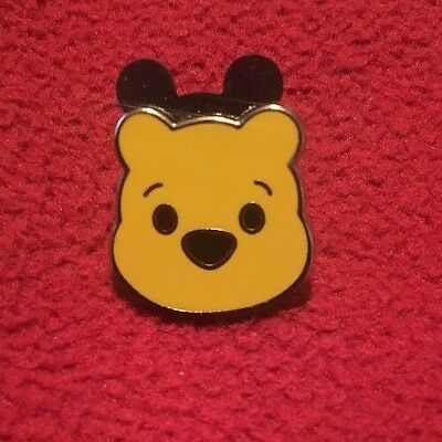 Disney Cute Winnie The Pooh Mini Head Trading Pin