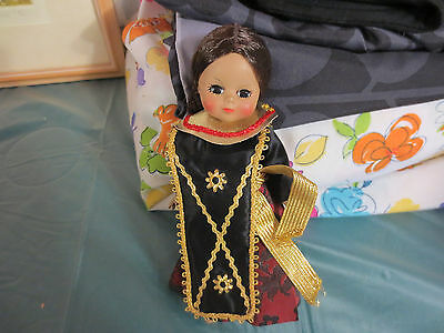 "MADAME ALEXANDER 8"" International Doll 1984 ""INDONESIA"" Doll #579 NO HAT"