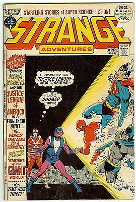 Strange Adventures 235 April, 1972 Fine Condition Bronze Age DC Comic