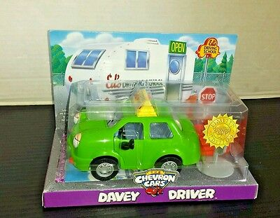 NEW The Chevron Cars Davey Driver Green Student Driver Car