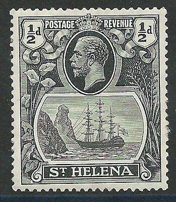 ST HELENA 1922 1/2d  Badge of The Colony (MNH)