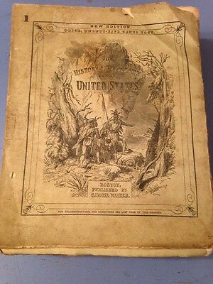 Scarce 1850 Hinton's History & Topography United States Rare Book Engravings