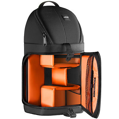 Neewer Camera Case Sling Backpack for Nikon Canon Sony-Orange Interior