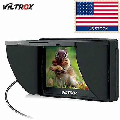 Viltrox 5'' DC-50 Clip-on Color TFT LCD Monitor HDMI AV Input for Digital Camera