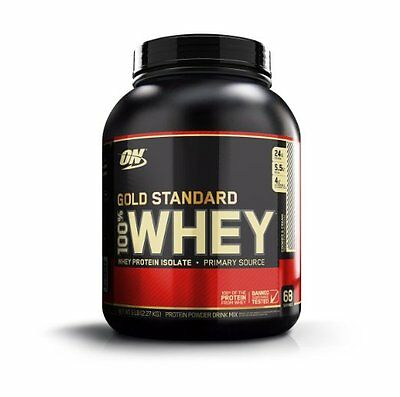 OPTIMUM NUTRITION 100% WHEY PROTEIN Gold Standard 5 lbs      PICK YOUR FLAVOR