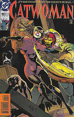 DC Comics CATWOMAN 11 It Is Bad Enough When The Enemy Is Human Jun 1994