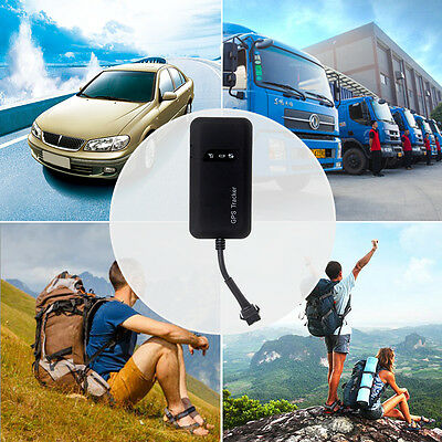 Durable Mini GPS GSM GPRS Car Tracker Real Time Tracking Device GT02A Locator