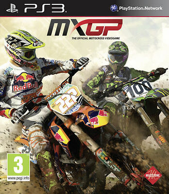 MXGP - The Official Motocross Videogame (PS3) [New Game]
