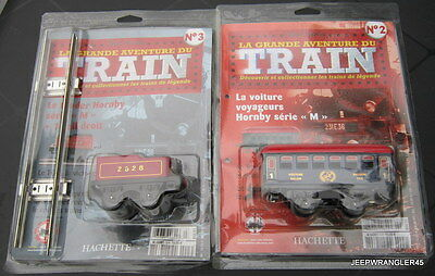 """Hachette ~ Hornby """"o"""" / Lot 2 Wagons Serie M # 03"""