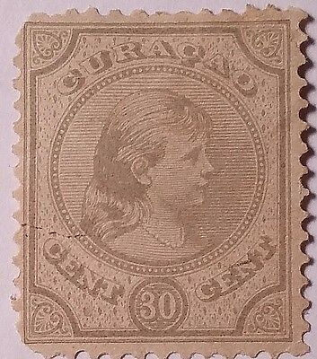 Curacao   Scott#23    Used Stamp ......worldwide Stamps