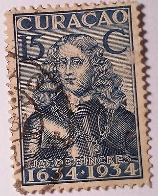 Curacao   Scott#145    Used Stamp ......worldwide Stamps
