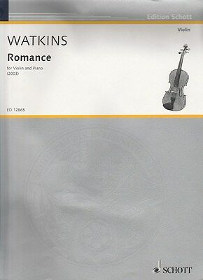Huw Watkins: Romance for Violin and Piano, Instrumental