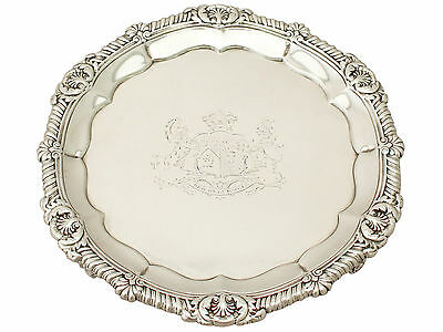 Sterling Silver Salver by Paul Storr - Antique George IV