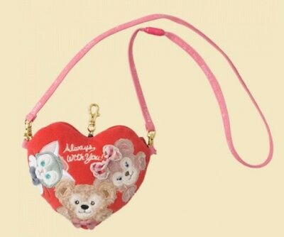 TDS Tokyo Disney Sea Valentine's Day Shelliemay Duffy Gelatoni Pouch Coin Bag