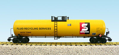 USA Trains G Scale Modern Tank Car R15176 Safety - Kleen - Yellow